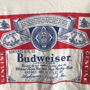 Budweiser ringer tee